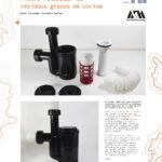 Territorios DI Fili Filtro retenedor de residuos grasos de cocin